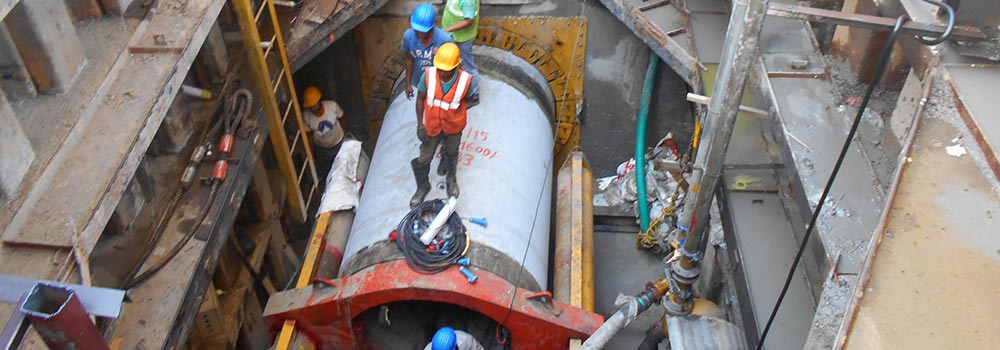 Laying of large diameter Deep Sewers by Trenchless Method in Kolkata (KMC)