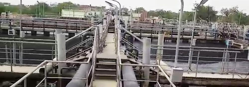 MBBR Treatment Plant of 144 MLD for Agra Water Supply Project (UPJN)