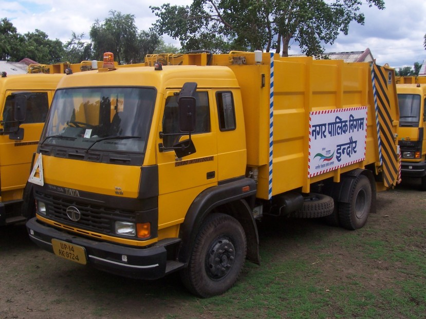 Solid Waste SWM Compactor for Indore SWM project