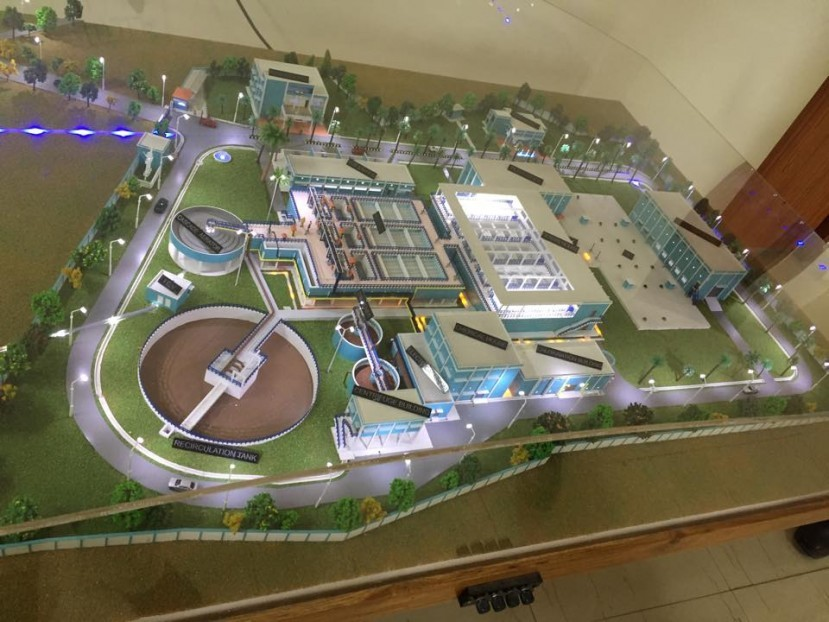 WTP Layout Nagpur Water supply project