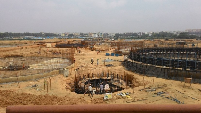 Construction of 60 MLD STP at K&C Valley