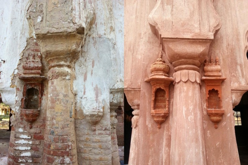 Gobindgarh fort Restoration before and after