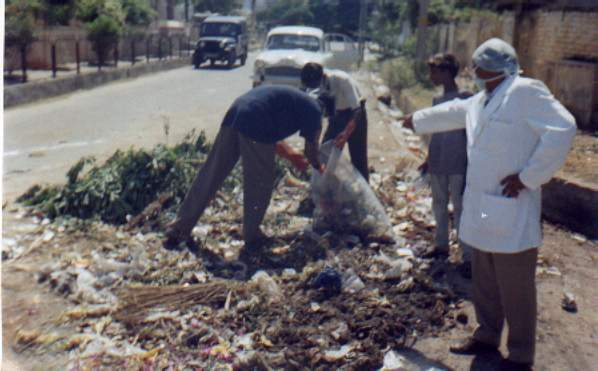 Waste Sample Collection for SWM Master Plan Preparation