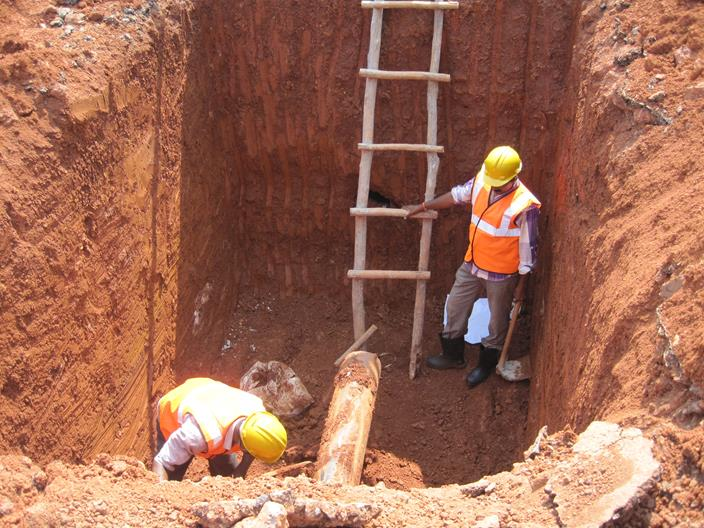 Laying of Sewers in Goa