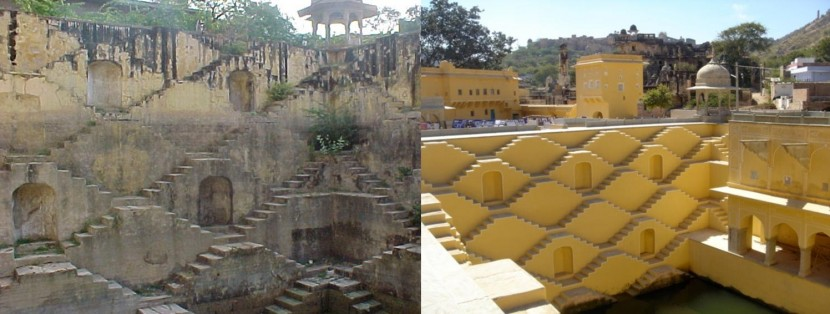 Panna Meena Ka Kund before and after part 2