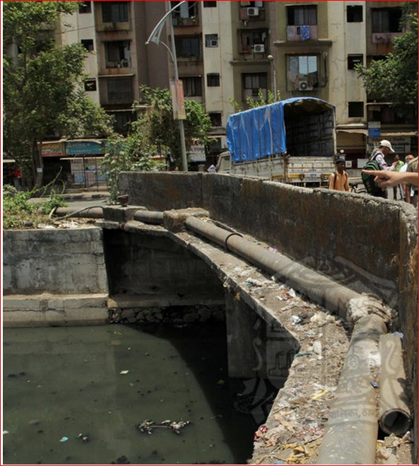 Major Drain in Thane City