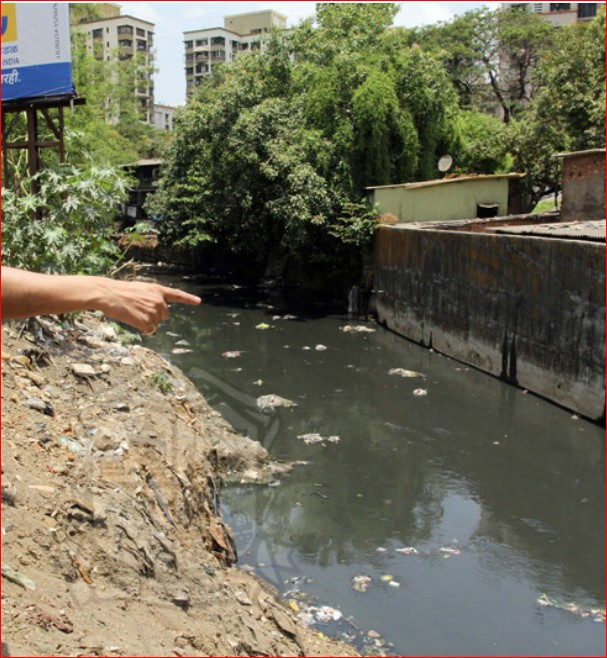 Major Drain in Thane city (2)