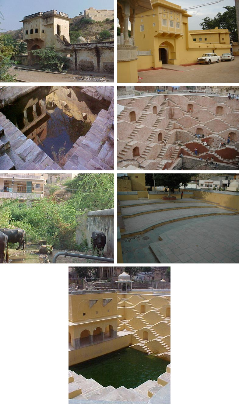 Restoration of Panna Meena Ka Kund