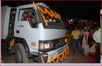 Solid Waste collection Equipment for Cuttack City