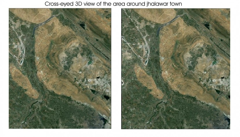 Halawar City Stormwater Drainage Google Earth View