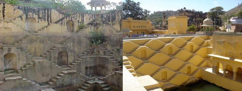 Panna Meena Ka Kund before and after part 2